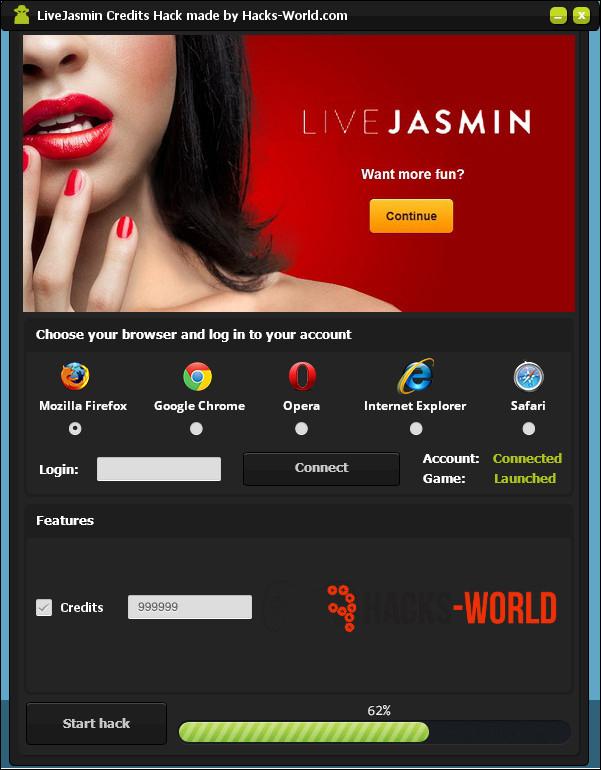 Live Jasmin Accounts 119